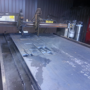 CNC Torch Plasma Table