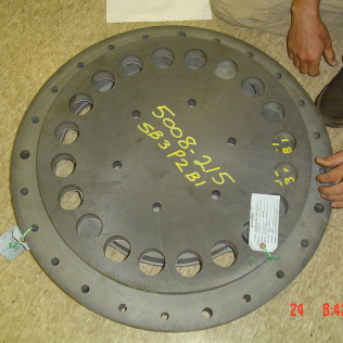 Power Plant Bridge Plate