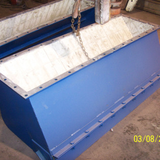 Prep Plant Chute with Ceramic