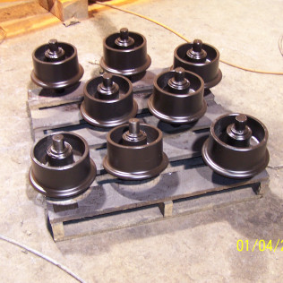 Steel Rail Wheels